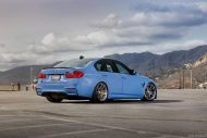 BMW M3 with HRE P44SC Wheels 9 190x127 19 Zoll HRE Wheels P44SC am BMW M3 F80