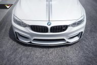BMW M4 With Vorsteiner Aero And Wheels 1 190x127 Vorsteiner Parts am BMW M4 F82 in Alpine Weiß