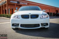 BMW E90 328i White M3 Bumper Msport RR  2 190x127 BMW E90 328i auf VMR VB3 Wheels by ModBargains