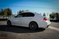 BMW E90 328i White M3 Bumper Msport RR  4 190x127 BMW E90 328i auf VMR VB3 Wheels by ModBargains