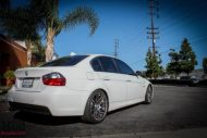 BMW E90 328i White M3 Bumper Msport RR  8 190x127 BMW E90 328i auf VMR VB3 Wheels by ModBargains