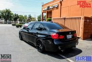 BMW F30 HR Springs HRE FF01 Black 9 190x127 ModBargains Tuning BMW F30 335i mit HRE FF01 Wheels