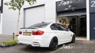 BMW F80 M3 HR Lowered Eibach 15mm 1 190x107 Dezent und gut   Baan Velgen tunt den BMW M3 F80