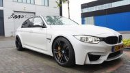 BMW F80 M3 HR Lowered Eibach 15mm 3 190x107 Dezent und gut   Baan Velgen tunt den BMW M3 F80