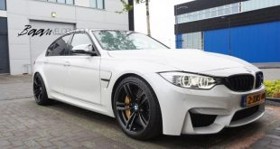 BMW F80 M3 HR Lowered Eibach 15mm 3 310x165 Dezent und gut   Baan Velgen tunt den BMW M3 F80