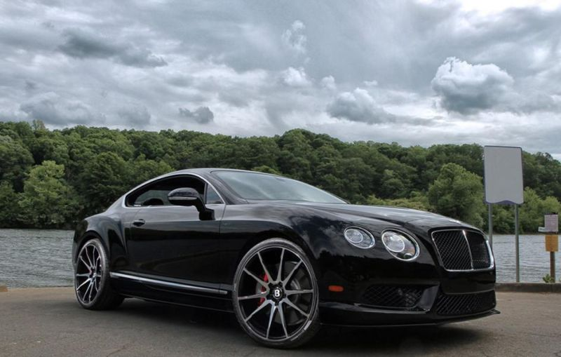Bentley GT V8 S BM12 By Savini Wheels 1 Savini Wheels BM12 am Bentley GT V8 S Coupe