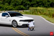 Ford Mustang On Vossen VFS 2 By Vossen Wheels 8 190x127 Vossen Wheels VFS 2 (VFS2) am Ford Mustang in Weiß