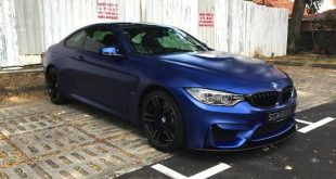 Frozen Blue BMW M4 tuning 1 310x165 Mattblaue Lackierung & IND Tuning Parts am BMW M4 F82
