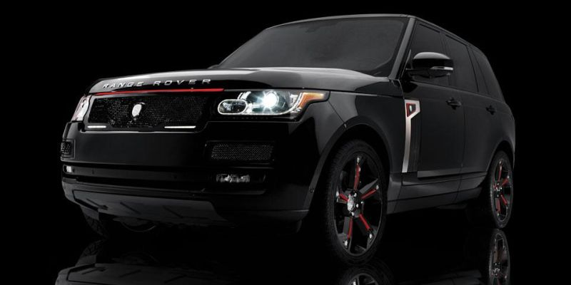 lumma design alufelgen in 23 zoll f r den range rover sport. Black Bedroom Furniture Sets. Home Design Ideas