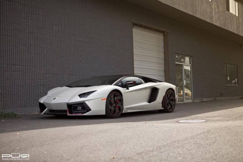 Lamborghini Aventador On PUR RS05.V2 By PUR Wheels 01 PUR Wheels am Lamborghini Aventador LP 700 4 Pirelli Edition