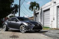 Lexus RC F Forgiato wheels 1 190x127 22 Zoll Forgiato Wheels am Lexus RC F (RC F)