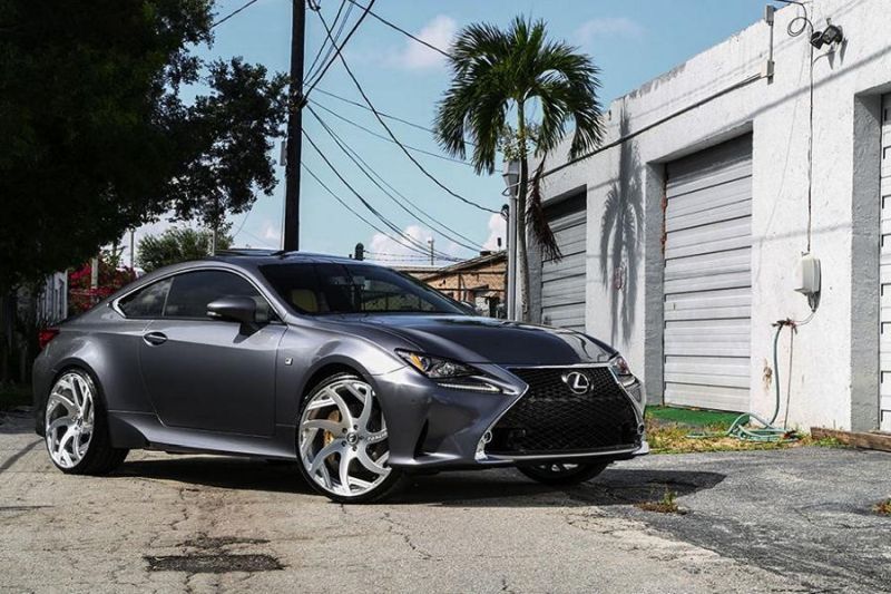 Lexus RC F Forgiato wheels 1 22 Zoll Forgiato Wheels am Lexus RC F (RC F)