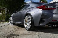 Lexus RC F Forgiato wheels 2 190x127 22 Zoll Forgiato Wheels am Lexus RC F (RC F)