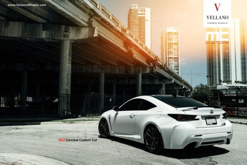 Lexus RCF On Vellano VCU Concave By Vellano Wheels 1 Vellano Forged Wheels VCU am Lexus RC F (RCF)