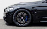 Matte Black HRE Wheels For A Black Sapphire M4 10 190x119 Schwarz & Schwarz   BMW M4 F82 mit HRE by EAS Tuning