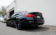 Matte Black HRE Wheels For A Black Sapphire M4 4 190x119 Schwarz & Schwarz   BMW M4 F82 mit HRE by EAS Tuning