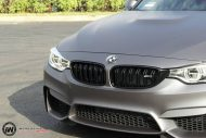 Matte Grey BMW M3 2 190x127 BMW M3 F80   Mattgraue Folierung by Impressiv Wrap