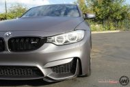 Matte Grey BMW M3 3 190x127 BMW M3 F80   Mattgraue Folierung by Impressiv Wrap