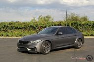 Matte Grey BMW M3 5 190x127 BMW M3 F80   Mattgraue Folierung by Impressiv Wrap