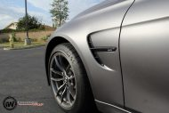 Matte Grey BMW M3 9 190x127 BMW M3 F80   Mattgraue Folierung by Impressiv Wrap