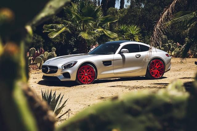 Mercedes AMG GT On Kato 1 ELC by Forgiato Wheels 01 Forgiato Wheels Kato 1 ELC am Mercedes AMG GT S