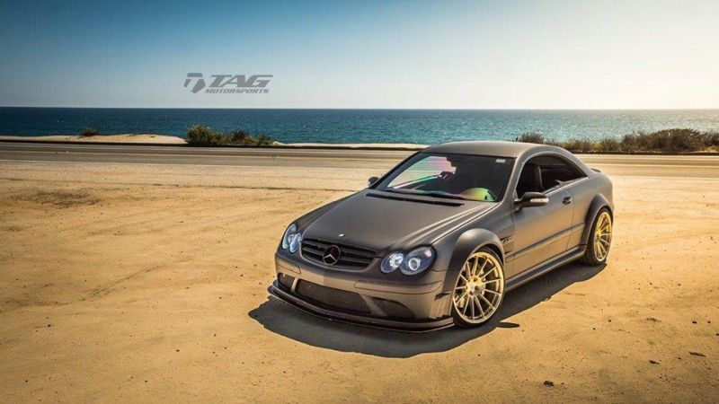 Mercedes-Benz-CLK-63-AMG-Black-Series-On-HRE-RS103M-by-TAG-Motorsports-1
