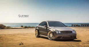 Mercedes Benz CLK 63 AMG Black Series On HRE RS103M by TAG Motorsports 2 310x165 Mercedes CLK63 AMG BS mit HRE RS103M Alufelgen in Gold