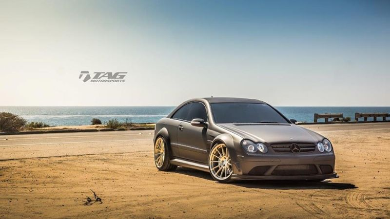 Mercedes-Benz-CLK-63-AMG-Black-Series-On-HRE-RS103M-by-TAG-Motorsports-2