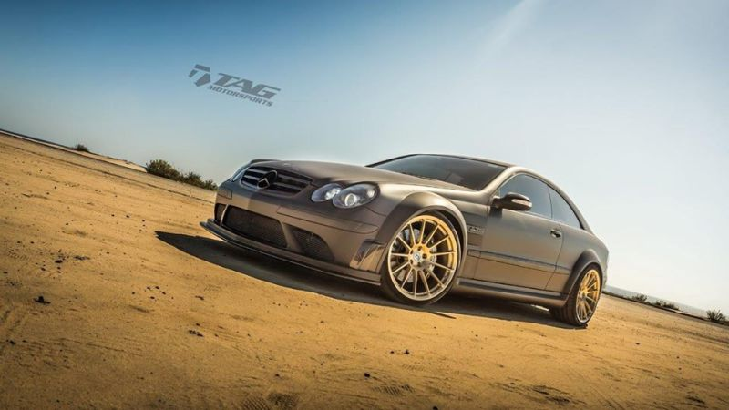 Mercedes-Benz-CLK-63-AMG-Black-Series-On-HRE-RS103M-by-TAG-Motorsports-3
