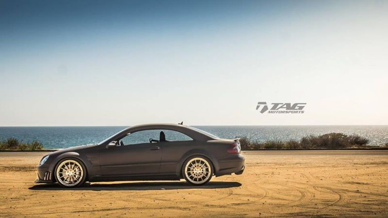Mercedes-Benz-CLK-63-AMG-Black-Series-On-HRE-RS103M-by-TAG-Motorsports-4