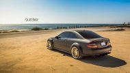 Mercedes Benz CLK 63 AMG Black Series On HRE RS103M by TAG Motorsports 5 190x107 Mercedes CLK63 AMG BS mit HRE RS103M Alufelgen in Gold
