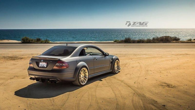 Mercedes-Benz-CLK-63-AMG-Black-Series-On-HRE-RS103M-by-TAG-Motorsports-7