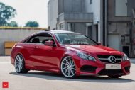 Mercedes Benz E Class On Vossen CVT By Vossen Wheels 4 190x127 Vossen Wheels CVT Alufelgen am Mercedes Benz E400