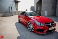 Mercedes Benz E Class On Vossen CVT By Vossen Wheels 6 190x127 Vossen Wheels CVT Alufelgen am Mercedes Benz E400