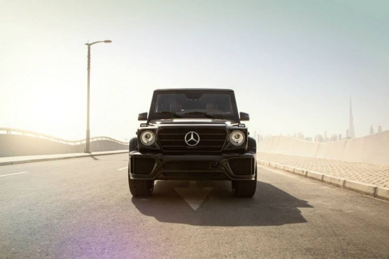 Mercedes-Benz G63 AMG Tuning Ares Performance 1