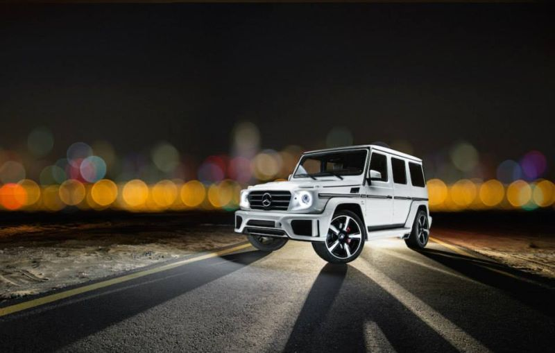 Mercedes-Benz G63 AMG Tuning Ares Performance 5