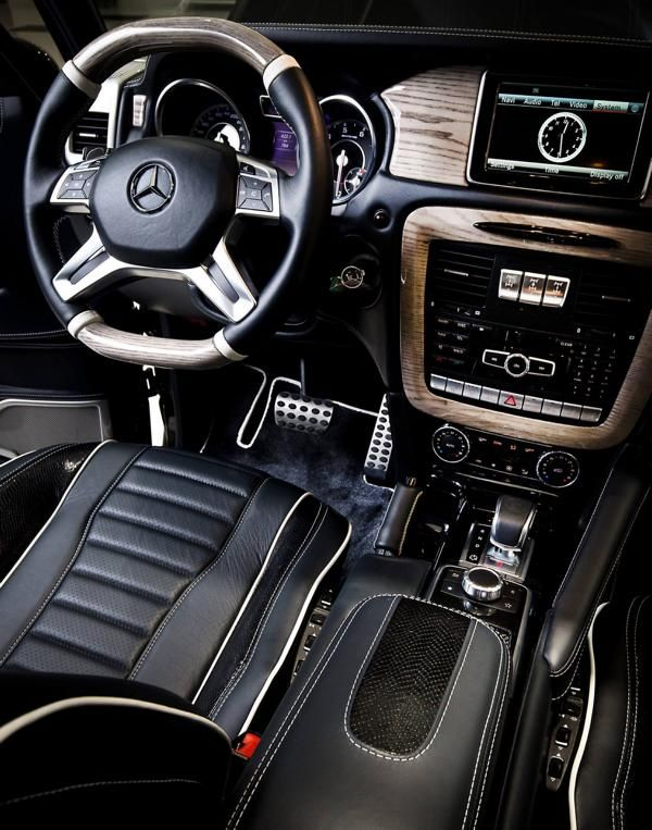 Mercedes-Benz G63 AMG Tuning Ares Performance 6