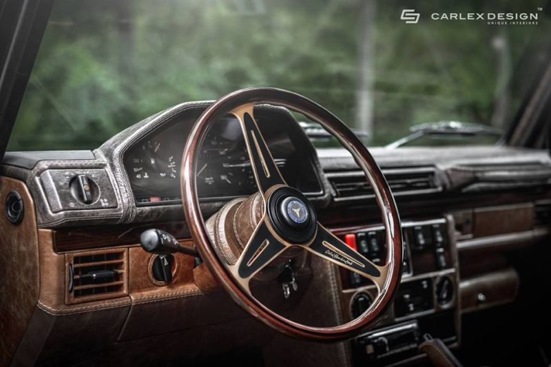 Mercedes g klasse mit vintage interieur by carlex design for Mercedes classe r interieur