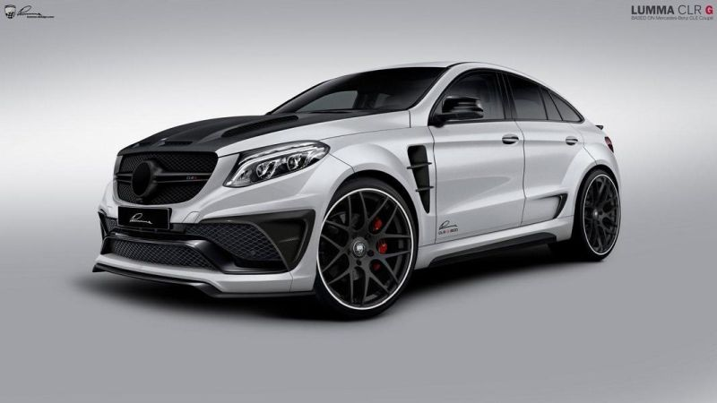 Mercedes GLE Coupe Lumma CLR G 800 1 Mercedes GLE Coupe mit 650PS by Lumma Design