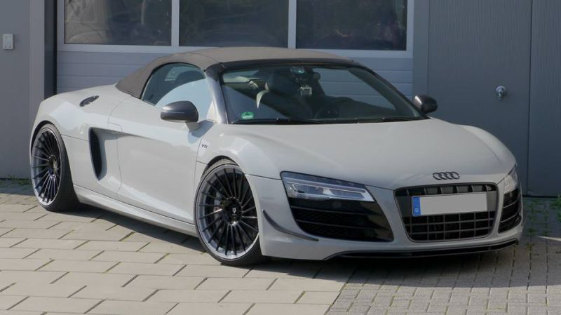 Audi R8 V10 Spyder In Nardo Grau By Mbdesign