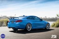 Stunning BMW M4 Featuring Work Wheels In A PSI Made Build 1 190x127 BMW M4 F82 in Yas Marina Blau vom Tuner PSI