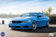 Stunning BMW M4 Featuring Work Wheels In A PSI Made Build 2 190x127 BMW M4 F82 in Yas Marina Blau vom Tuner PSI