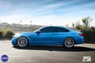 Stunning BMW M4 Featuring Work Wheels In A PSI Made Build 4 190x127 BMW M4 F82 in Yas Marina Blau vom Tuner PSI