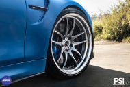 Stunning BMW M4 Featuring Work Wheels In A PSI Made Build 5 190x127 BMW M4 F82 in Yas Marina Blau vom Tuner PSI