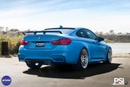 Stunning BMW M4 Featuring Work Wheels In A PSI Made Build 6 190x127 BMW M4 F82 in Yas Marina Blau vom Tuner PSI