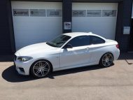 Tuning TVW Car Design BMW M235i KW Manhart Concave One 1 190x143 BMW M235i in Weiß mit Manhart Performance 19 Zoll