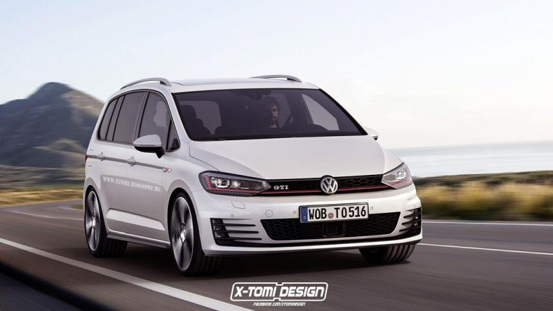 Volkswagen Touran GTI2 1 Neuer VW Touran GTI   Tuning by X Tomi Design