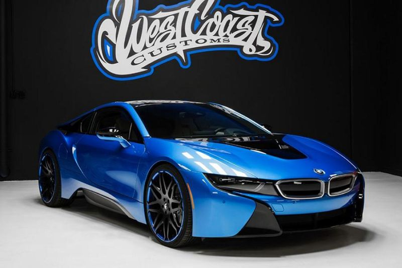 bmw i8 tuning by west coast customs magazin. Black Bedroom Furniture Sets. Home Design Ideas