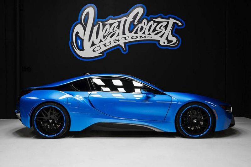 bmw i8 tuning by west coast customs. Black Bedroom Furniture Sets. Home Design Ideas