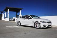 Wheels Boutique Does Another BMW M3 With ADV1 Wheels 2 190x127 Schick   BMW M4 F82 in Weiß mit weißen ADV005 Felgen